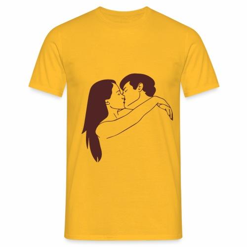 Fall in love - Maglietta da uomo