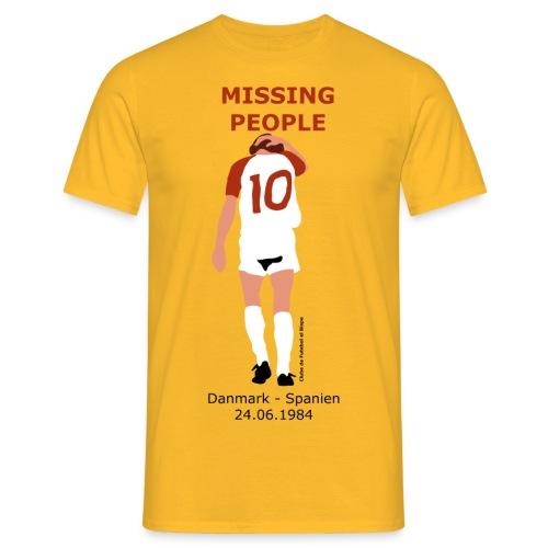 Missing People - Herre-T-shirt