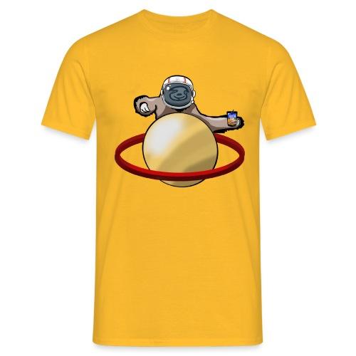 Faultier Astronaut - Männer T-Shirt