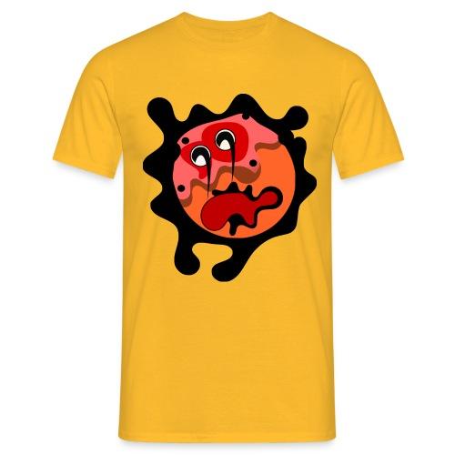 scary cartoon - Mannen T-shirt