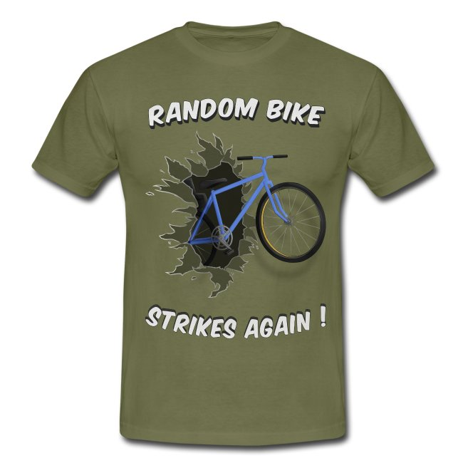 random bike t shirtwhite only