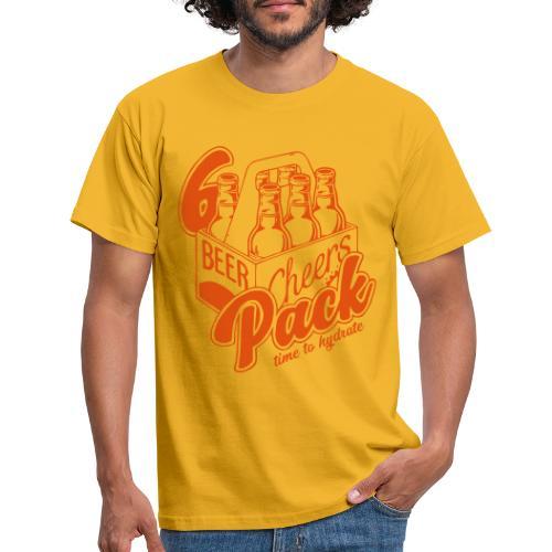 6er Pack ... Bier - Männer T-Shirt