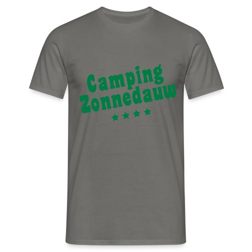 Camping Zonnedauw - Mannen T-shirt