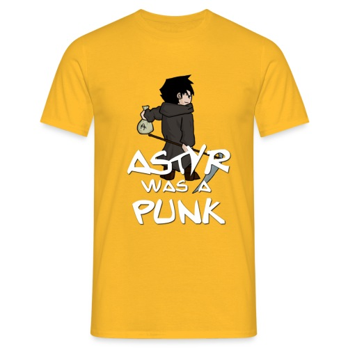 astyr was a punk - T-shirt Homme