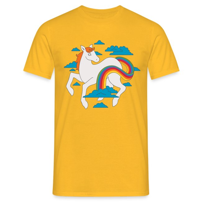 Rainbow Tail Pony T-shirt