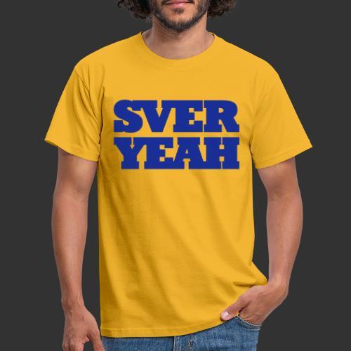 SVERYEAH GulBlå - T-shirt herr