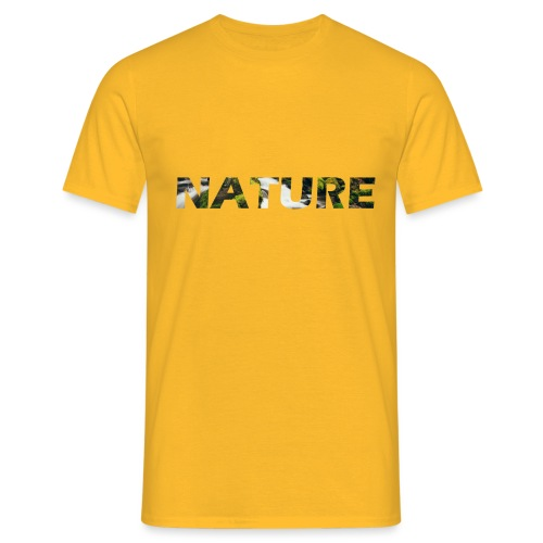 Nature - Mannen T-shirt