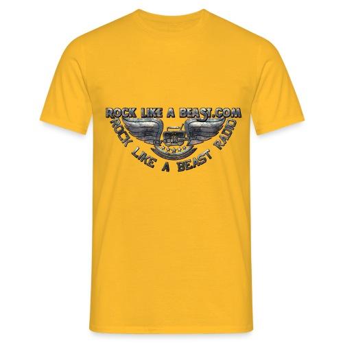ROCK LIKE A BEASTLogo01 - T-shirt herr