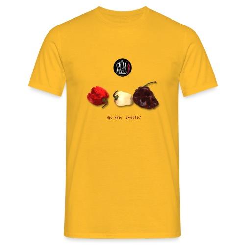 3stooges the chili mafia - Männer T-Shirt