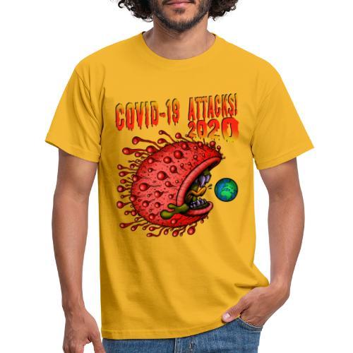 Covid-19 Attacks! 2020 - Männer T-Shirt