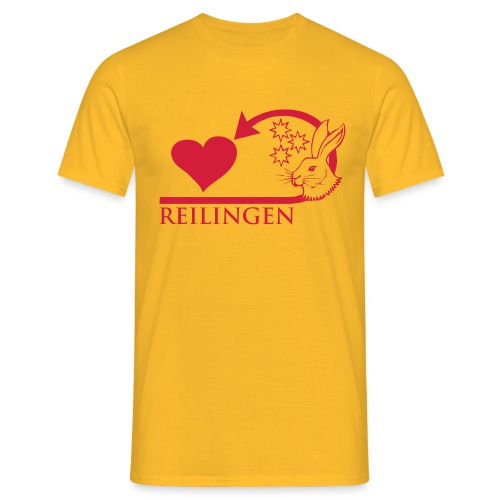Reilingen zeigt Herz - Männer T-Shirt