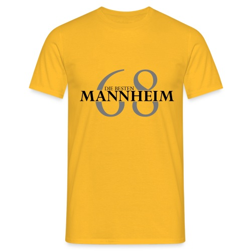 mannheim 68 die besten - Männer T-Shirt