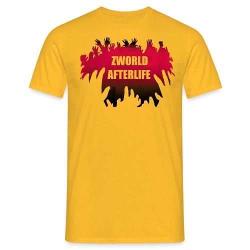 logo rouge blanc tshirt png - T-shirt Homme