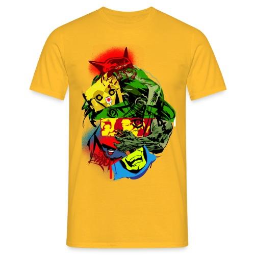 graffitiproofology - Männer T-Shirt