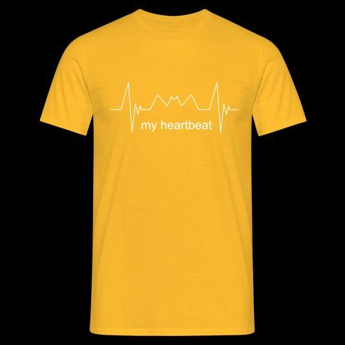 heartbeat - Maglietta da uomo