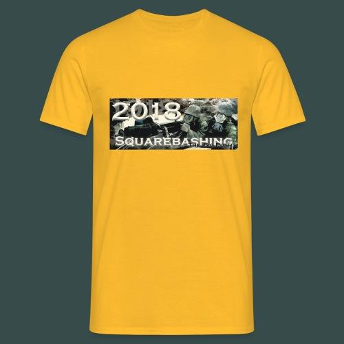 squarebashing2018 - Men's T-Shirt