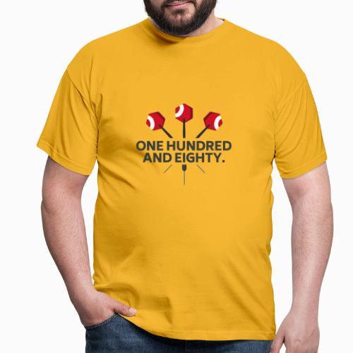 One Hundred And Eighty. Winner-Edition. - Männer T-Shirt