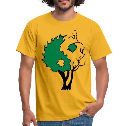 Yin Yang Arbre - T-shirt Homme