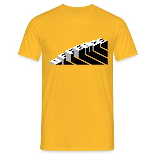 iso trans gif - T-skjorte for menn