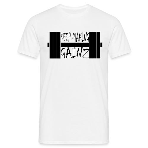 Weight + Text - Men's T-Shirt