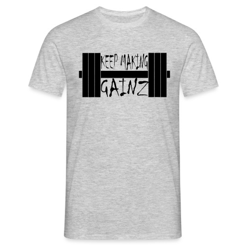 Weight + Text - Men's T-Shirt