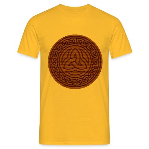 Triquetra Celtic Knot - Men's T-Shirt