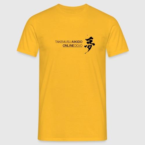 Takemusu Aikido Online Dojo - Yume Black - Men's T-Shirt