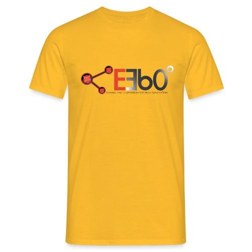 Nuovo Logo E360 slogan png - Maglietta da uomo
