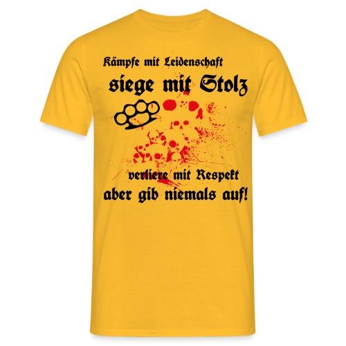 fight für helle shirts - Männer T-Shirt