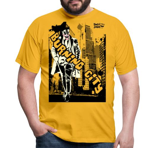 Burnig City - Camiseta hombre