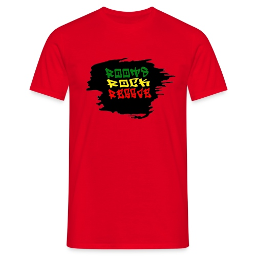 roots rock reggae - T-shirt Homme