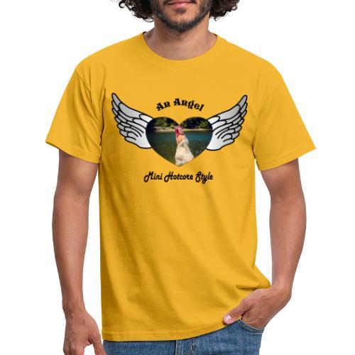 An Angel bunt - Männer T-Shirt