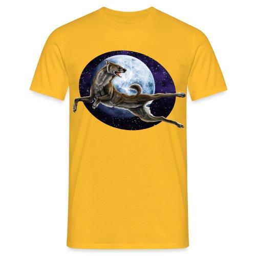 Galaxy Wolf - Männer T-Shirt