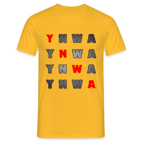 ynwa2 png - Men's T-Shirt