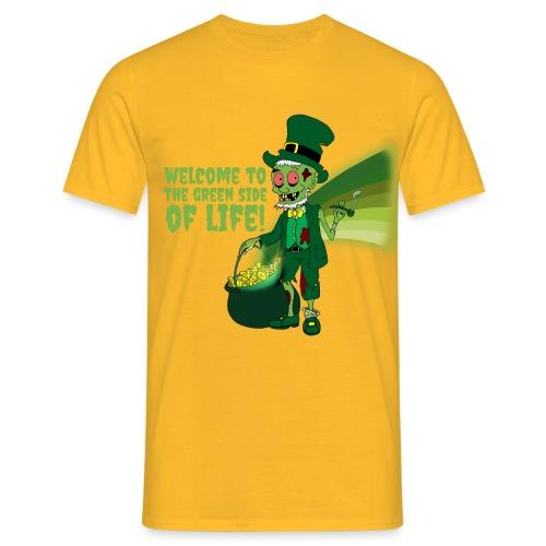 green side - Men's T-Shirt
