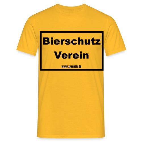 Bierschutzverein - Männer T-Shirt