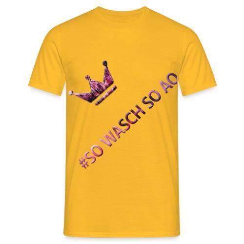 SOWASCHSOAO - Männer T-Shirt