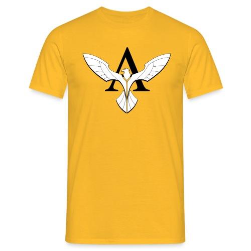 aigle centre blanc gif - T-shirt Homme