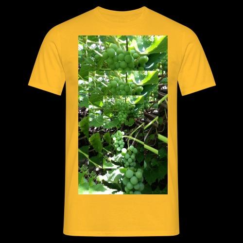 Weintrauben - Männer T-Shirt