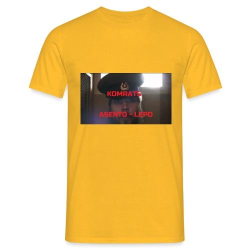 KOMRATS! - Miesten t-paita