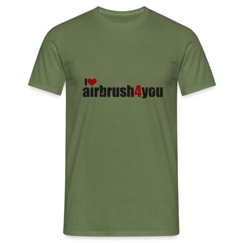 I Love airbrush4you - Männer T-Shirt