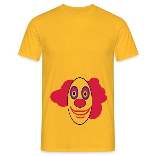Lustiges clownsgesicht - Männer T-Shirt
