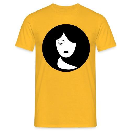 face - Mannen T-shirt