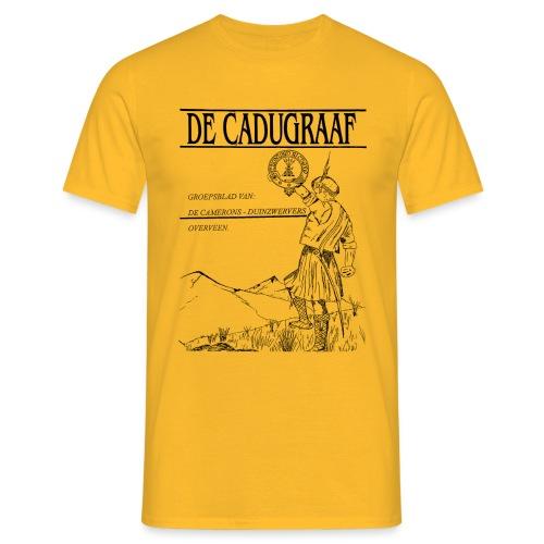 cadugraaf zwart - Mannen T-shirt
