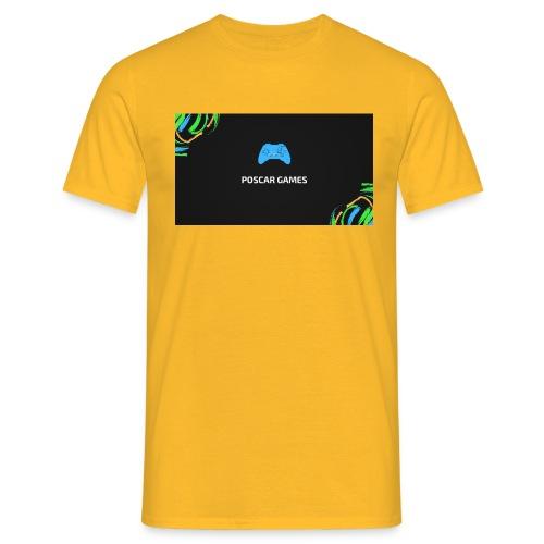 POSCAR GAMES - Camiseta hombre