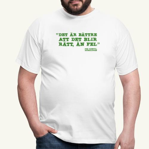 KENTA CITAT - T-shirt herr