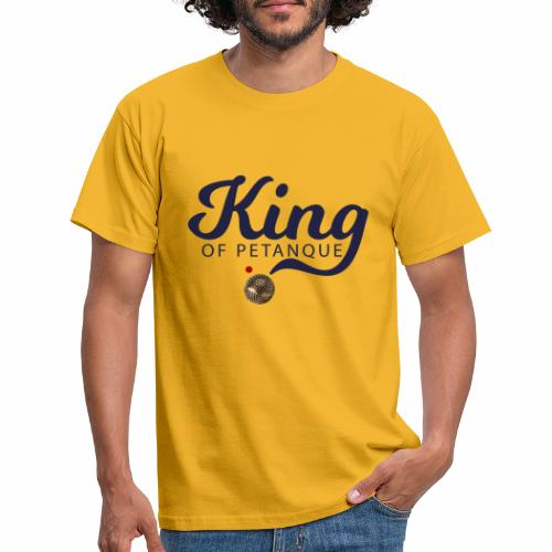 KING OF PETANQUE - T-shirt Homme