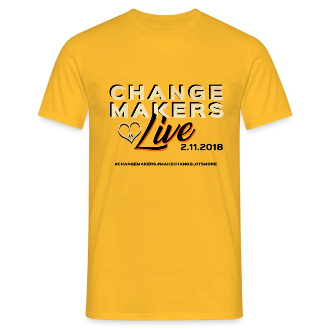 'CHANGE MAKERS LIVE' CREW Tshirt