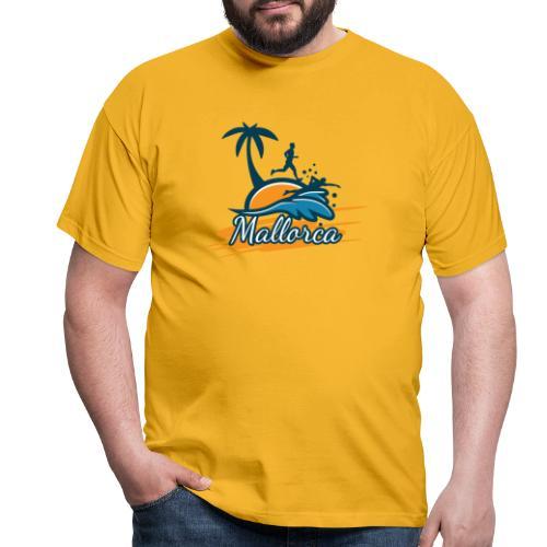 Joggen auf Mallorca - Sport - sportlich - Jogging - Männer T-Shirt