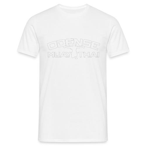 OMT LOGO2012 HVID 08 08 2 2 - Herre-T-shirt